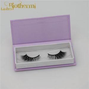 100% siberian mink false lashes private label Individual Lashes customized package