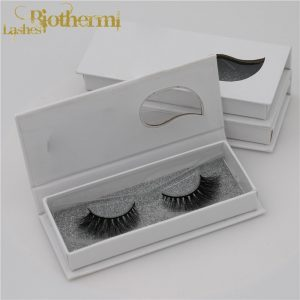 Own Brand/OEM/Private Label Wholesale 3D 100% Mink Fur False Eyelashes Silk Lashes Packaging