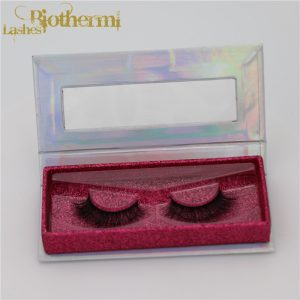 customized cruelty free 3d mink lashes