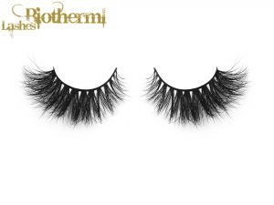 100% hademade human hair eyelash factory
