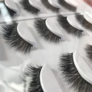 Step 3 handmade mink lashes
