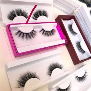 Step 5 handmade mink lashes