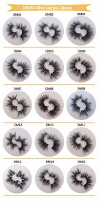 20mm Mink Eyelash Catalog